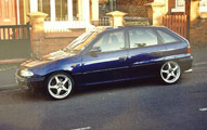 Vauxhall Astra, 2.0L XE
