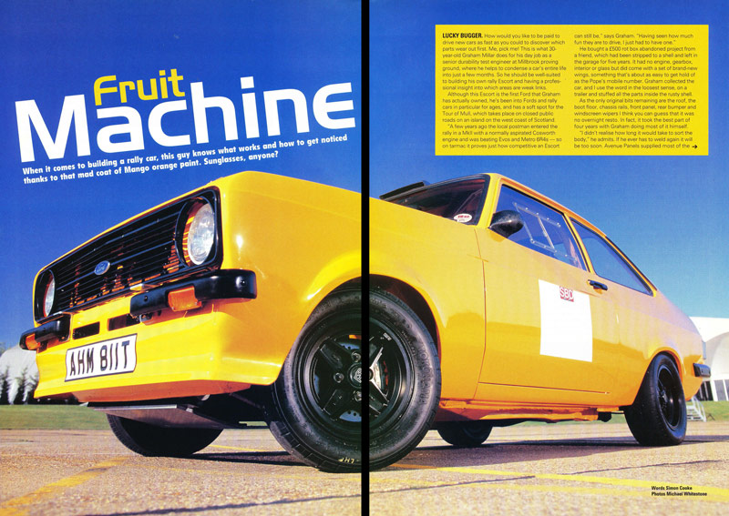 Classic Ford, August 2002