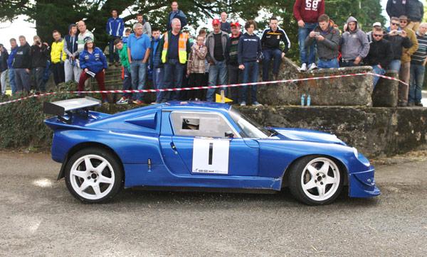 Mark Straker & Michael Coady, Winner Wexford Stages Rally 2015. Photograph: Barron Pix