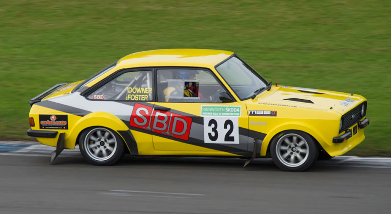 Matt Downer at Dukeries Rally 2015