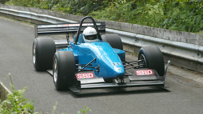 Trevor Willis at Doune, 2007