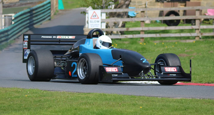 Trevor Willis at Harewood, July 2016