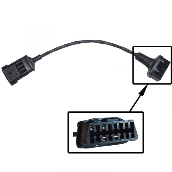 Adaptor lead OBD to 4 way AMP Superseal